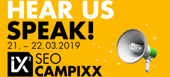 SEO CAMPIXX 21. - 22.03.2019 in Berlin